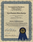 Prudent Man Award